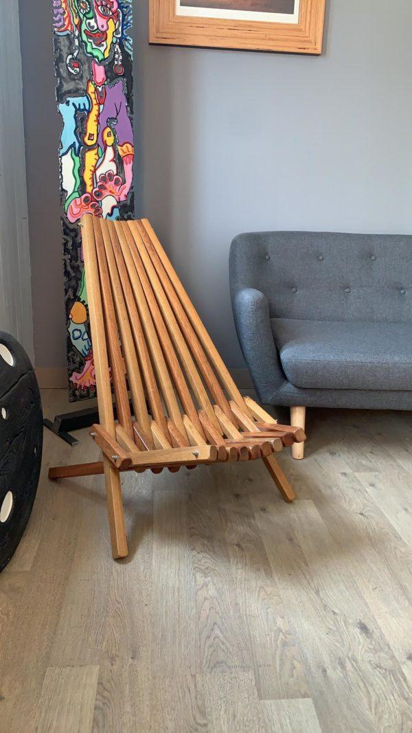 Chaise bois chêne