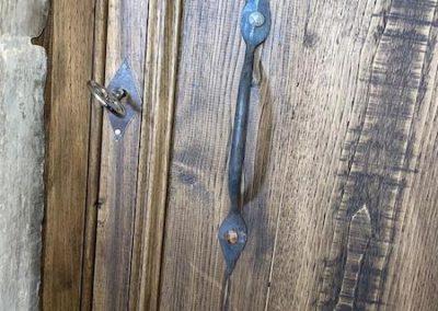 Porte châtaignier Patrimoine français Eglise CAMBAYRAC